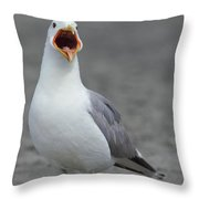 Can You Hear Me Now Throw Pillow