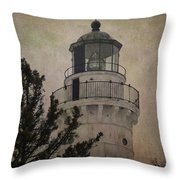 Cana Island Light Throw Pillow