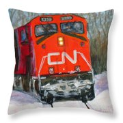 Canada Coast To Coast Throw Pillow