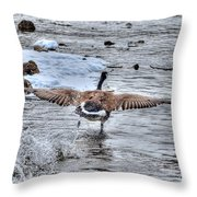 Canada Goose - The Runway Throw Pillow by Skye Ryan-Evans