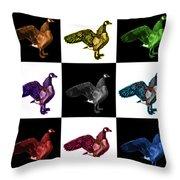 Canada Goose Pop Art - 7585 - V1 - M Throw Pillow
