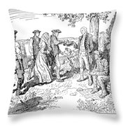 Canada: Loyalists, 1784 Throw Pillow