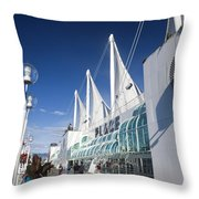 Canada Place Vancouver Throw Pillow