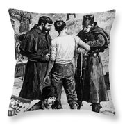 Canada: Riel Rebellion, 1885 Throw Pillow
