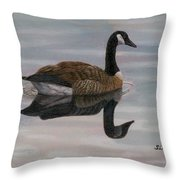 Canada Wet Throw Pillow