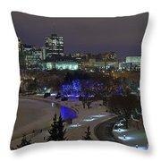 Canada's Capital Throw Pillow