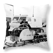 Canada's Military Excercise Throw Pillow