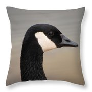 Canadian Feathered Friend Throw Pillow