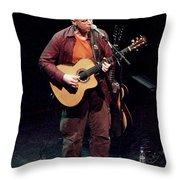 Canadian Folk Rocker Bruce Cockburn In 2002 Throw Pillow