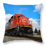 Canadian National Throw Pillow