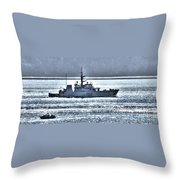 Canadian Navy Nanaimo M M702 Throw Pillow