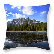 Canadian Rockies 8 Throw Pillow