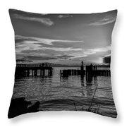 Canadian Sea Throw Pillow