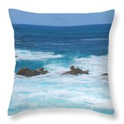 Canal Rocks 2am-113297 Throw Pillow