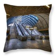 Canary Wharf 1.0 Throw Pillow