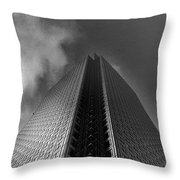 Canary Wharf London 3 Throw Pillow