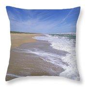 Canaveral National Seashore Throw Pillow