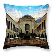Canberra 10 Throw Pillow