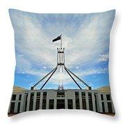 Canberra 11 Throw Pillow