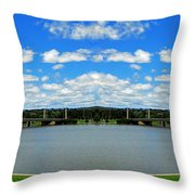 Canberra 9 Throw Pillow
