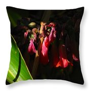 Candelabra  Flower  Throw Pillow
