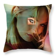 Candice Swanepoel  Throw Pillow