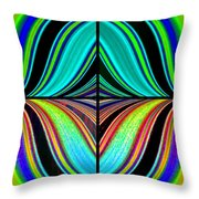 Candid Color 23 Throw Pillow