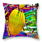 Candied Coconut Throw Pillow