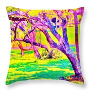 Candied Golf Game Throw Pillow