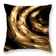 Candle Abstract 2 Throw Pillow