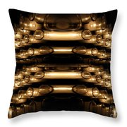 Candle Abstract 4 Throw Pillow
