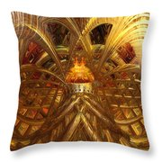 Candle Light Abstract Infiniti Fx  Throw Pillow