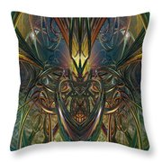 Candle Light Abstract Phenomenon Fx  Throw Pillow