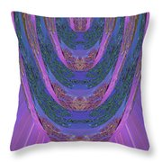 Candle Stick Art Magic Graphic Patterns Navinjoshi Signature Style Art      Throw Pillow