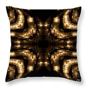 Candles Abstract 1 Throw Pillow