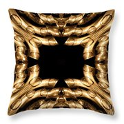Candles Abstract 3 Throw Pillow