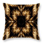 Candles Abstract 5 Throw Pillow