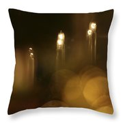 Candles At A Window Throw Pillow