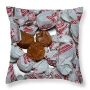 Candy - Coconut Butterscotch Kisses - Sweets Throw Pillow