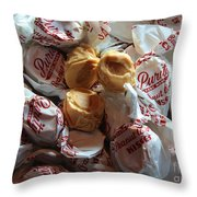 Candy - Peanut Butter Kisses - Sweets Throw Pillow