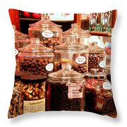 Candy Anyone? Throw Pillow
