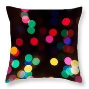 Candy Glowing Throw Pillow