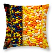 Candy II Throw Pillow
