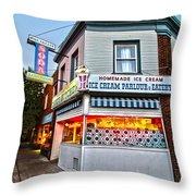 Candy Kitchen Throw Pillow