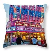 Candy Shoppe Throw Pillow