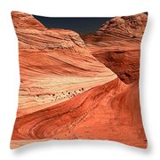 Candyland Canyons Throw Pillow