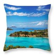 Caneel Bay Throw Pillow