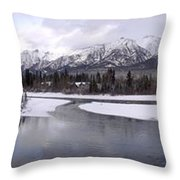 Canmore Winter Throw Pillow