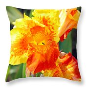 Cannas Throw Pillow