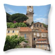 Cannes Throw Pillow